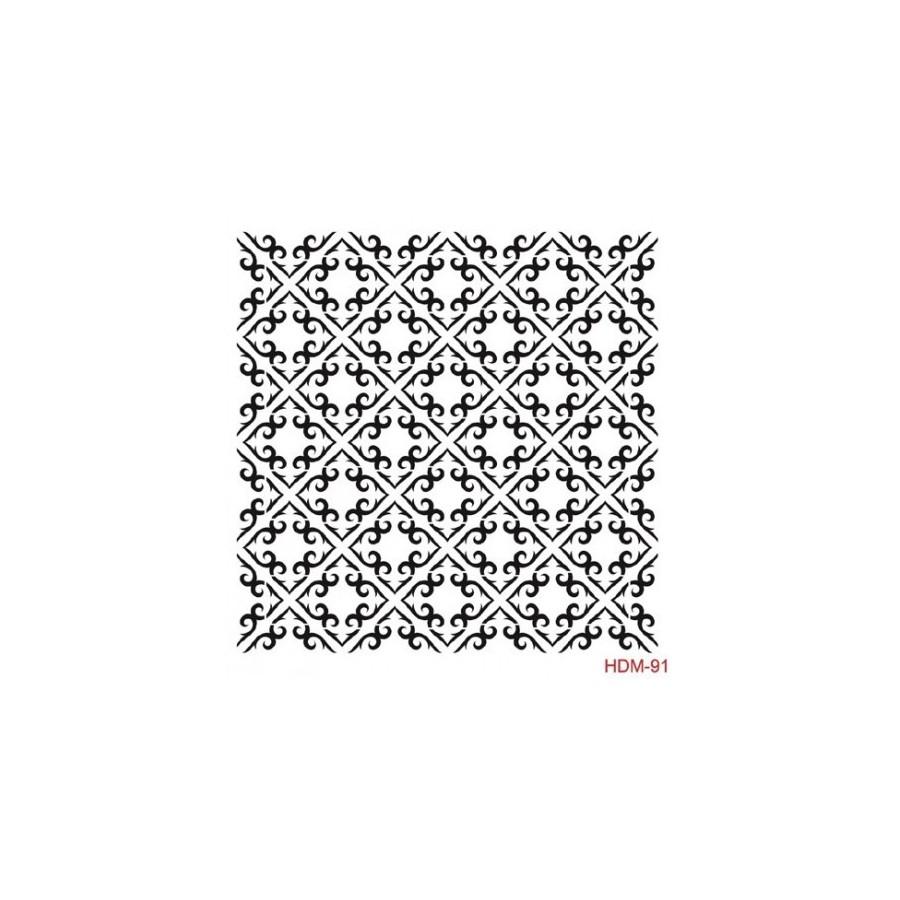 Stencil BALDOSA  25x25cm