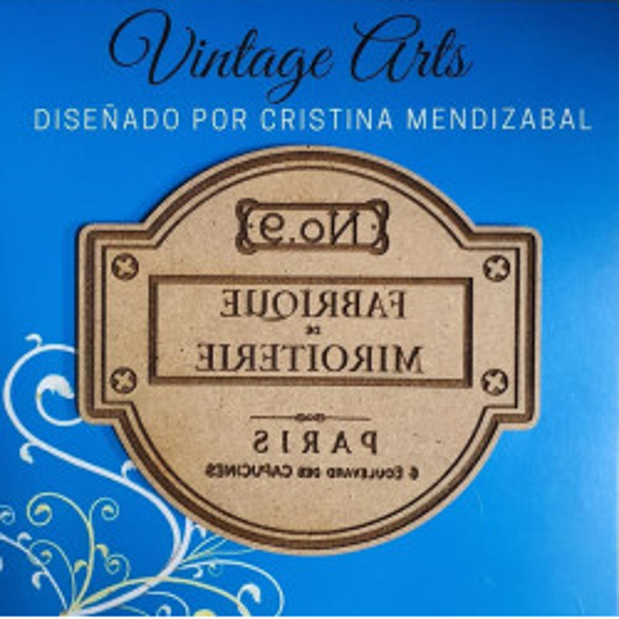 Molde Vintage Fabrique de...
