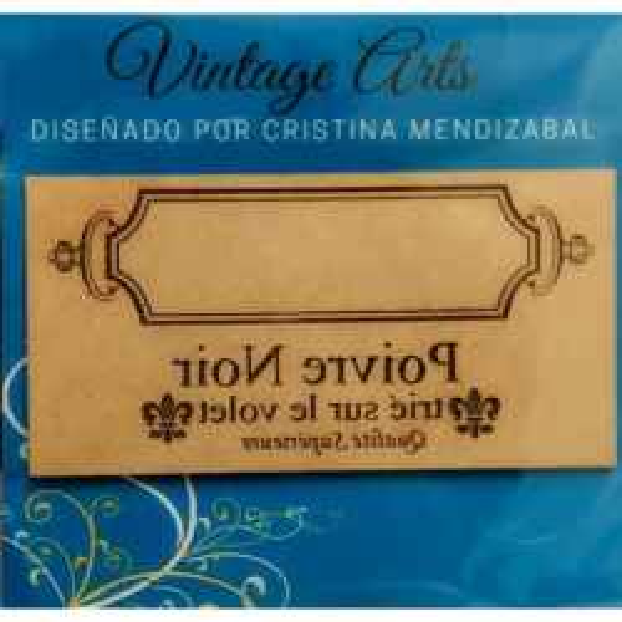 Molde Vintage Etiqueta...
