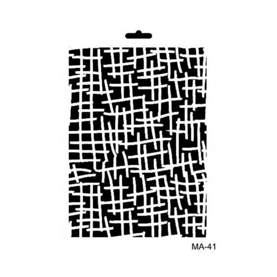 Stencil Mix Media 41 TEXTURA