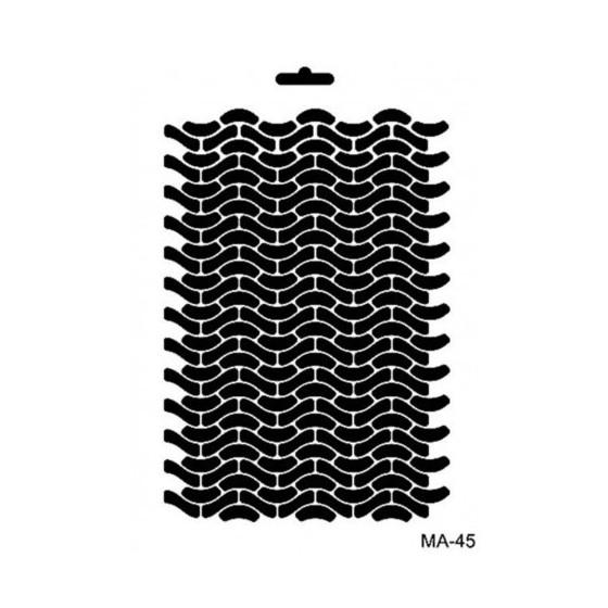 Stencil Mix Media 45 TEXTURA
