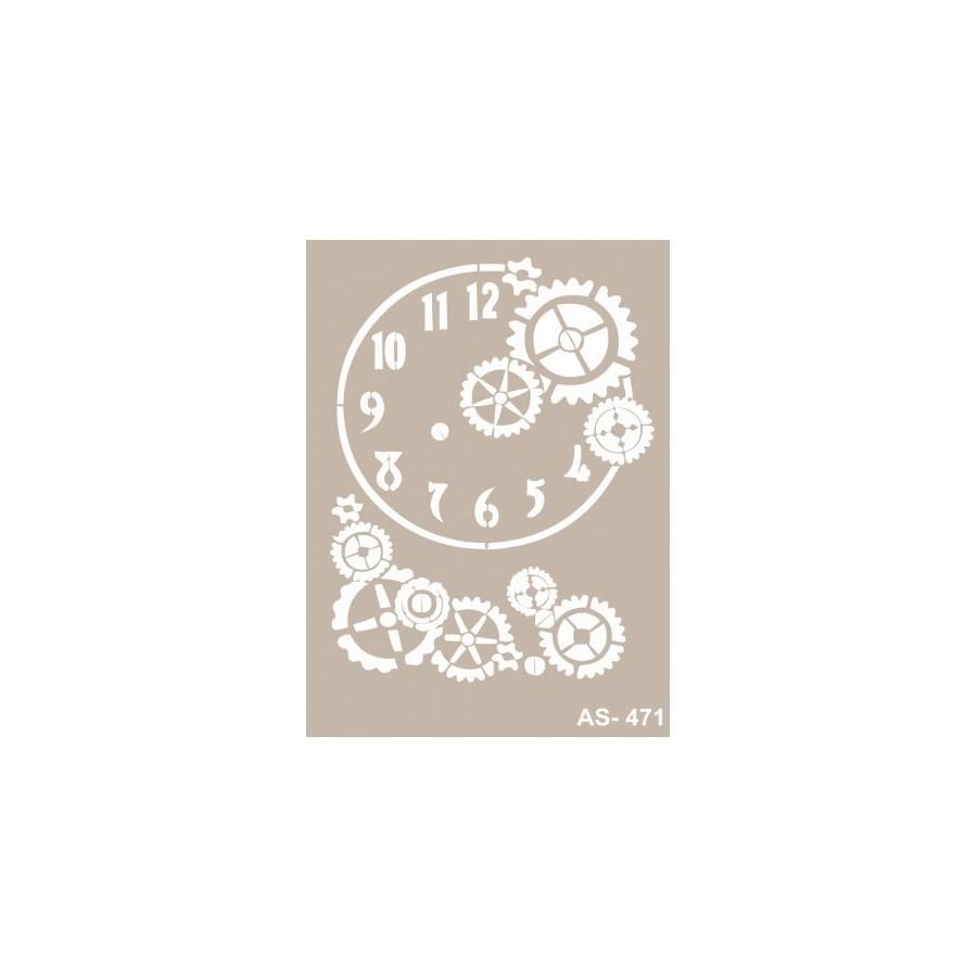 Stencil ENGRANAJES ESFERA