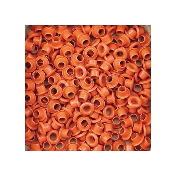 Set Eyelets 5 mm orange 25...