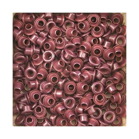 Set Eyelets 5 mm burgundy...
