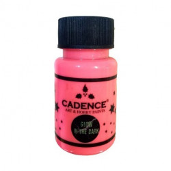 GLOW IN THE DARK rosa 50 ml