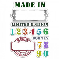 """Clear Stamp Set 4""""x6""""..."""